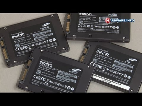 Samsung 840 Evo SSD review - Hardware.Info TV (Dutch)