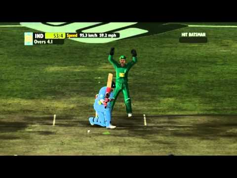 India VS SAfrica  Part - 1 - Ashes Cricket 2009