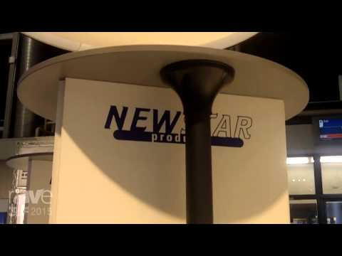 ISE 2015: NewStar Shows Off Ceiling Mounts