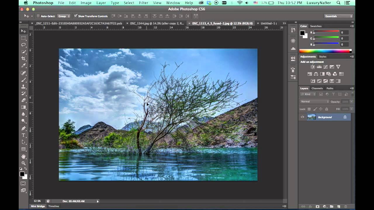 how to make a frame in photoshop