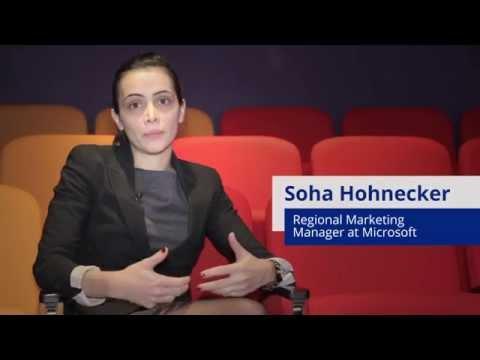 Soha Hohnecker, Microsoft - Interview