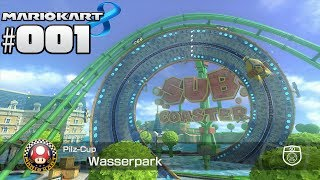 MARIO KART 8 MULTIPLAYER #001 Pilz Cup 50ccm ★ Let