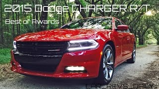 Road Test Review - 2015 Dodge Charger R/T V8 RWD Is $37k 4-Door Musclecar