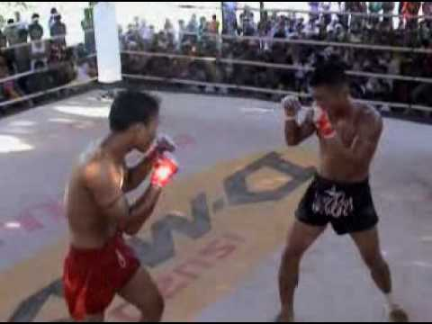 Myanmar Lethwei from Golden Triangle Myawaddy, game 3 Image 1