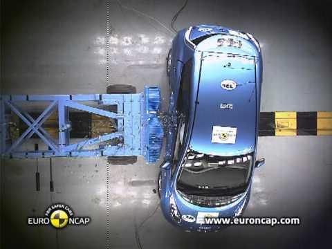 Euro NCAP | Nissan Leaf | 2012 | Краш-тест