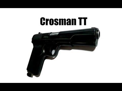 Пневматический пистолет Crosman TT+Неполная разборка
