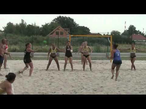 Piłka Ręczna Plażowa. Turniej W Opolu