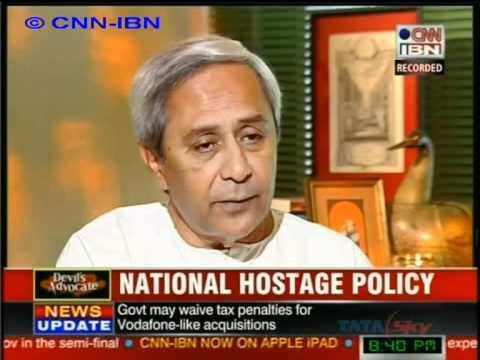 CNN IBN Naveen Patnaik 4 5 2012