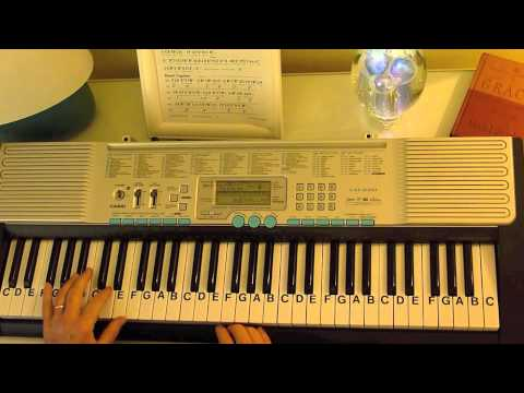 How to Play ~ Frosty the Snowman-Key Bb ~ Burl Ives, Jimmy Durante & Various Artists ~ LetterNotePl