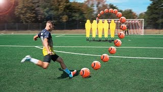 ULTIMATE FREE KICK CHALLENGE (MONSTER HYDRO #1)