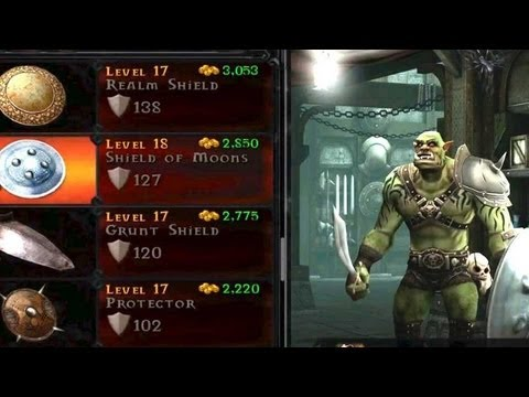 Orc Vengeance Iphone Game Trailer