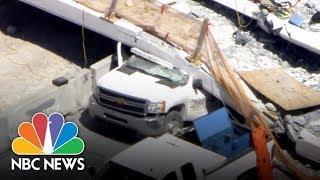 Pedestrian Bridge Collapse From Miami