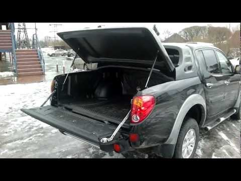 Кунг крышка пикапа Mitsubishi L200 07- Full-Box Фул-Бокс черный
