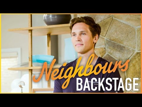 Neighbours Backstage - Harley's last day