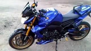 Essai de Yamaha FZ8 2011