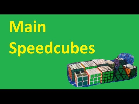My main speedcubes/puzzles