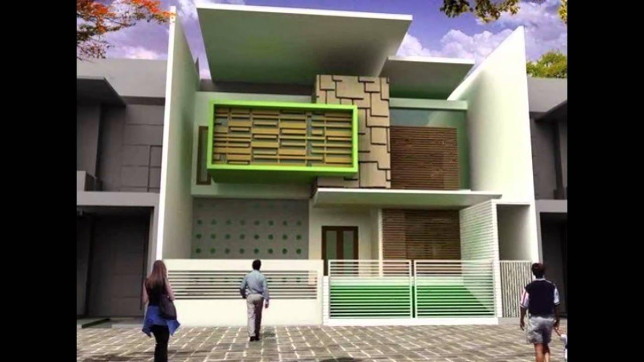 Desain Atap Rumah Minimalis Modern Youtube