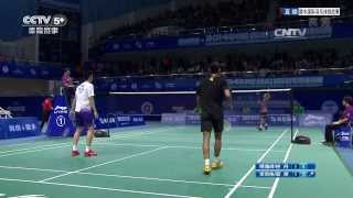 [HD] Exhibition Game - MD - Lin D. / Lee C.W. / Cai Y. / Fu H.F.- 2014 China International Challenge