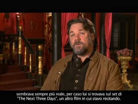 L'Uomo con i Pugni di Ferro - Intervista a Russell Crowe (sottotitoli in italiano)