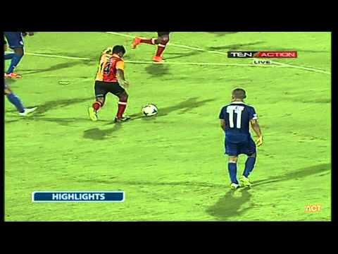 Hero I-League 2015 Bengaluru FC (3) vs Kingfisher East Bengal (0) 3-5-2015