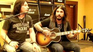 Eric Singer and John Corabi- Beth KISS EXPO 2011