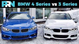 4 Series Gran Coupé vs 3 Series Sedan | TestDrive Showdown