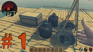 Yeni bir hayatta kalma oyunu - Raft Prototype #1 - Türkçe