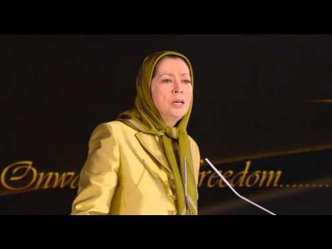 Maryam Rajavi paris2013 5