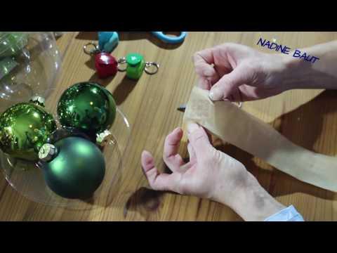 05:51 Weihnachtsdeko   Weihnachtskugeln   DIY