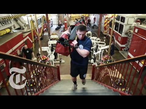 The Firefighter's Workout   The New York Times