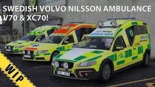 GTA V Volvo V70 & XC70 Nilsson Ambulance [WIP]