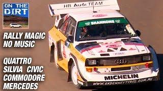Rally Magic (NO MUSIC) - Audi Quattro, Honda Civic, Nissan Silvia, Mercedes, Commodore, Lancer EVO