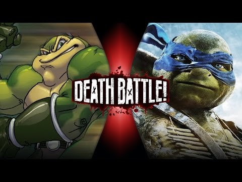 DEATH BATTLE! - Zitz VS Leonardo