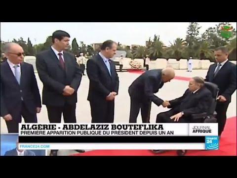 Algérie : première apparition publique du président Abdelaziz Bouteflika depuis un an