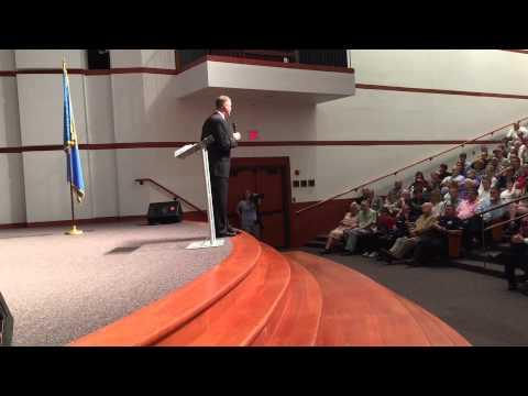 Rep. Jim Bridenstine Introduces Ted Cruz in Bartlettsville, Oklahoma