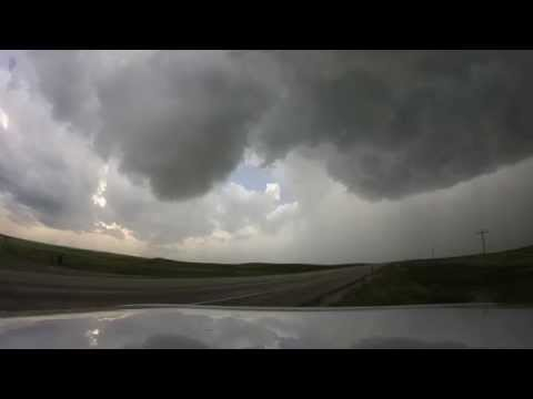 June 30 2015 Tornado north of Ludlow, SD, along the SD/ND border