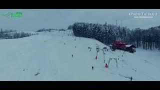 Partia de ski Chilii de pe dealul Matau, martie 2018