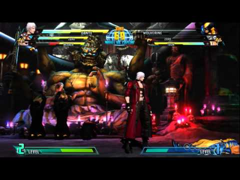 MvC3 Tournament - Round 2 Highlights