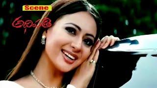 Preeti Jhangiani Love Making Scene | Adhipathi |  Mohan Babu | Nagarjuna | V9 Videos