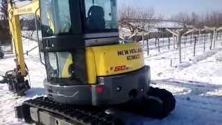 New Holland Kobelco E50B SR Mini #Excavator #Walkaround
