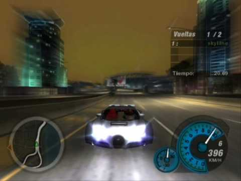 need for speed underground 2 bugatti veyron 16 4 youtube. Black Bedroom Furniture Sets. Home Design Ideas
