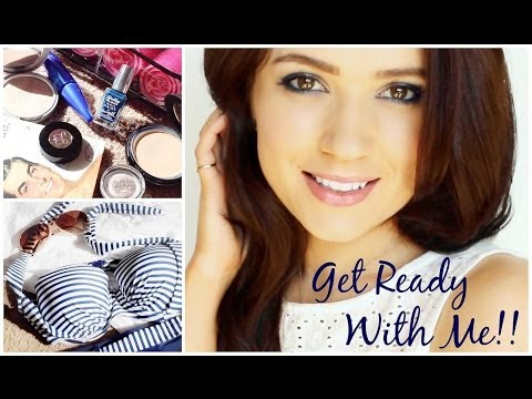 Get Ready With Me ⚓️ Makeup, Hair and Outfit