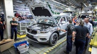 Volvo XC40 Factory in Belgium (2018 Model)