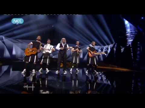 Koza Mostra feat. Agathon Iakovidis - Alcohol is free LIVE @ EUROVISION 2013 - 2nd SEMI FINAL