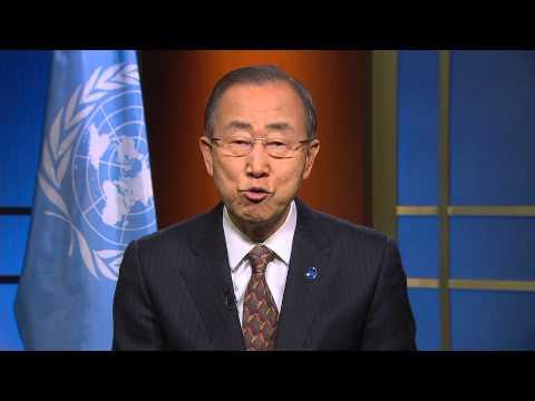 Ban Ki-moon: Message for International Women's Day (8 March 2015)