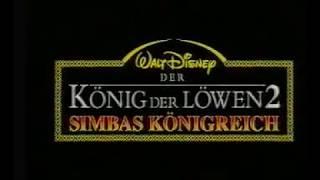 The Lion King 2 - (German SP Trailer)