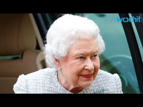 Princess Charlotte Meets Great-Grandmother Queen Elizabeth