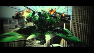 Transformers 4 Age of Extinction - Drone Chase Scene HD