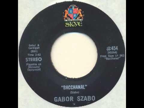 Gabor Szabo - Bacchanal (jazz psych raga)
