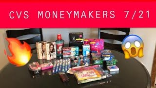 CVS COUPONING 7/21/19 FREEBIES & MONEYMAKERS